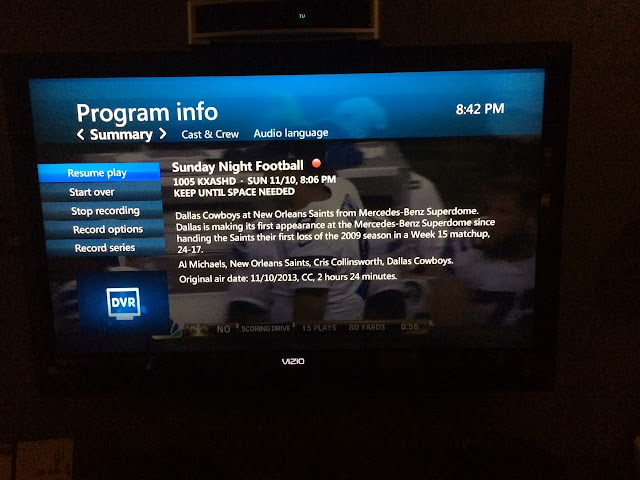 tony roma television listing mistake