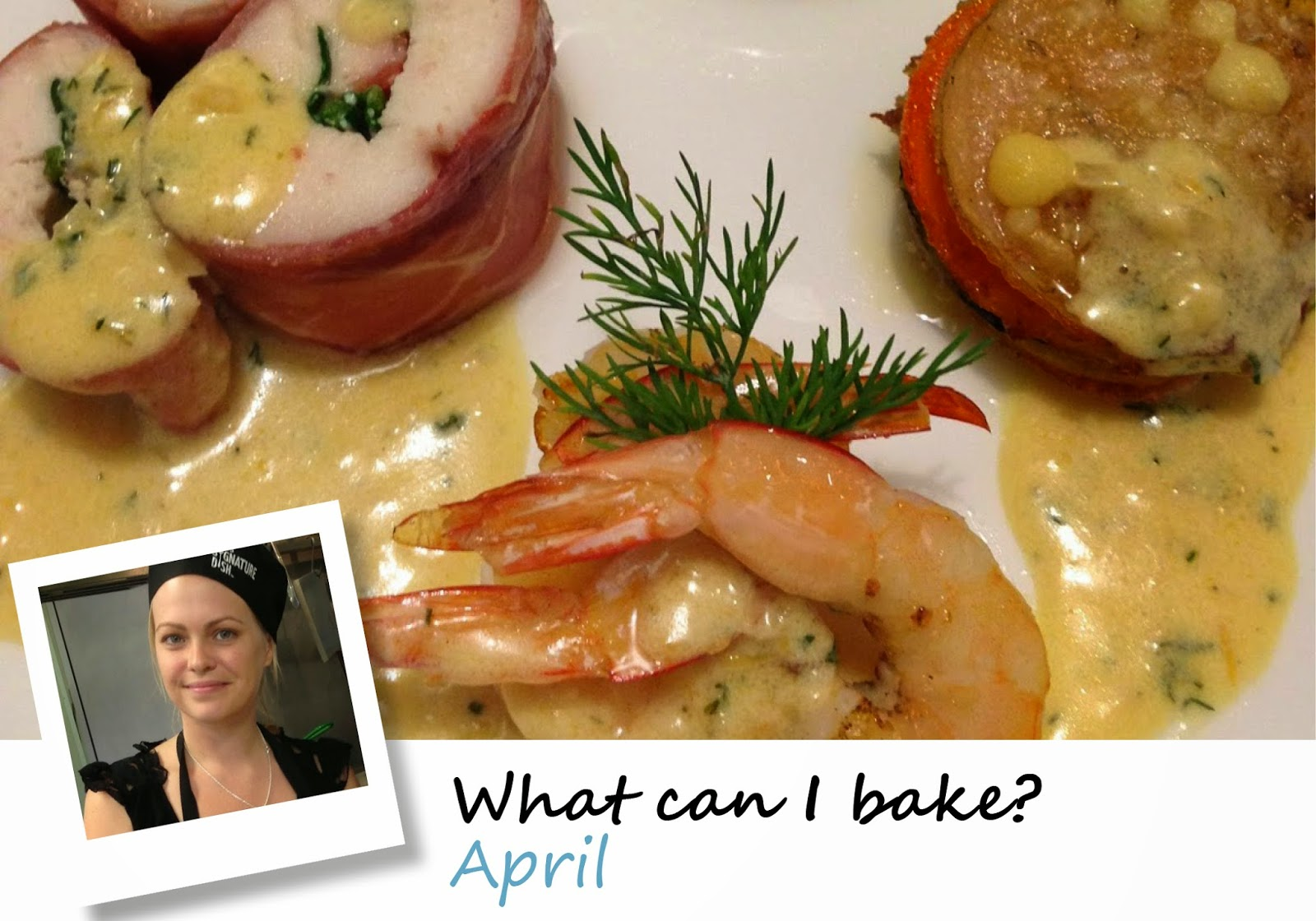 April - What can I bake?