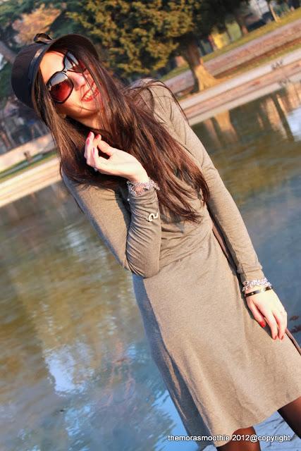 outfit, dress, bisbigli, fashion