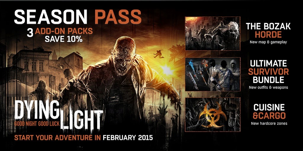 Techland Reveals Details On The Dying Light Season Pass - We Know Gamers