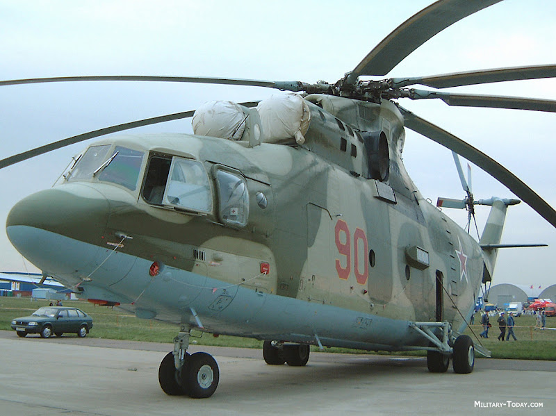 Mi-26 HALO Heavy-Lift Helicopter