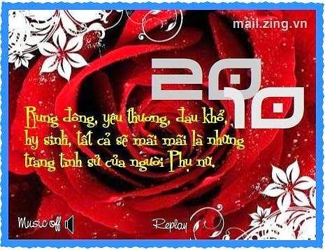 thiep 20 10 dep nhat 25 Ảnh 20/10 đẹp nhất Thiệp ngày 20/10 dành tặng chị em phụ nữ