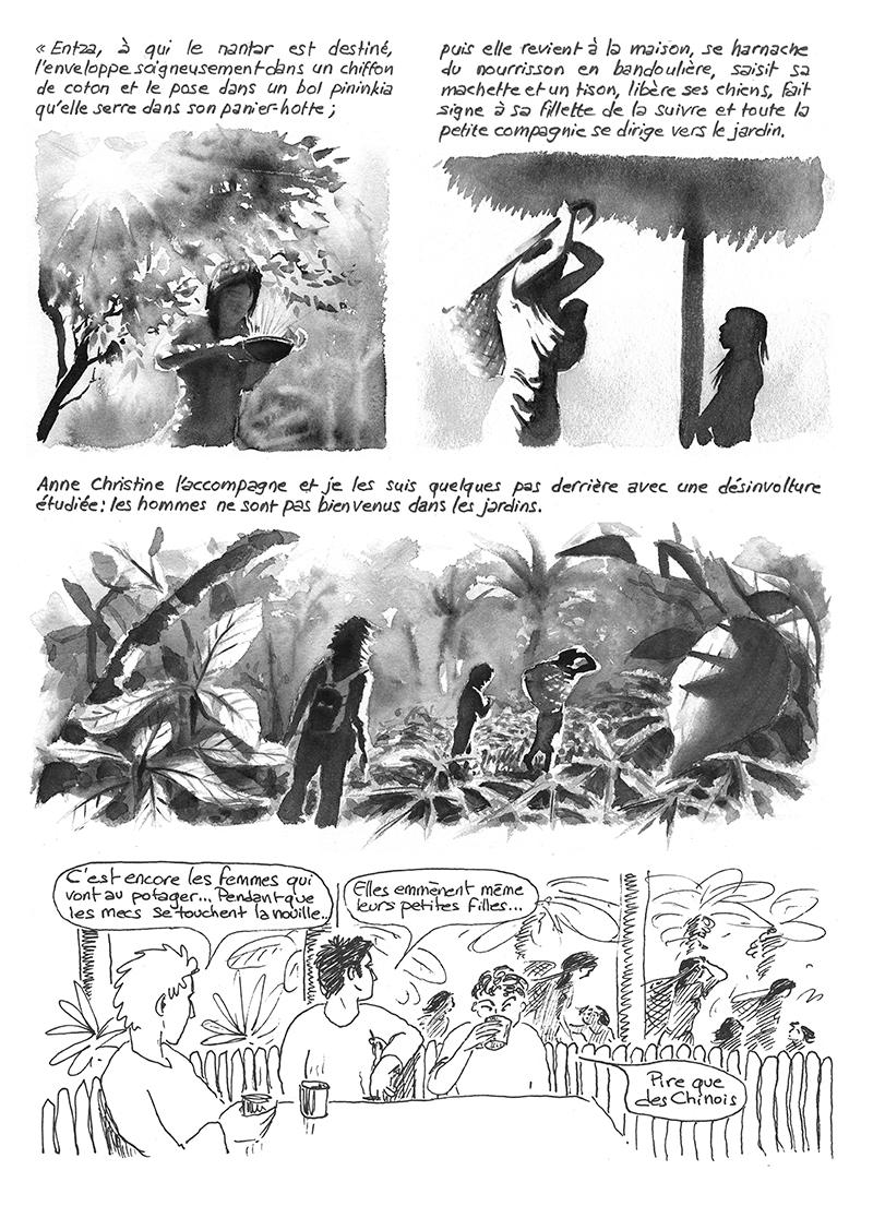 Achuar Lances du crépuscule, Descola, Anne Christine Taylor, Nunkui, Jardins