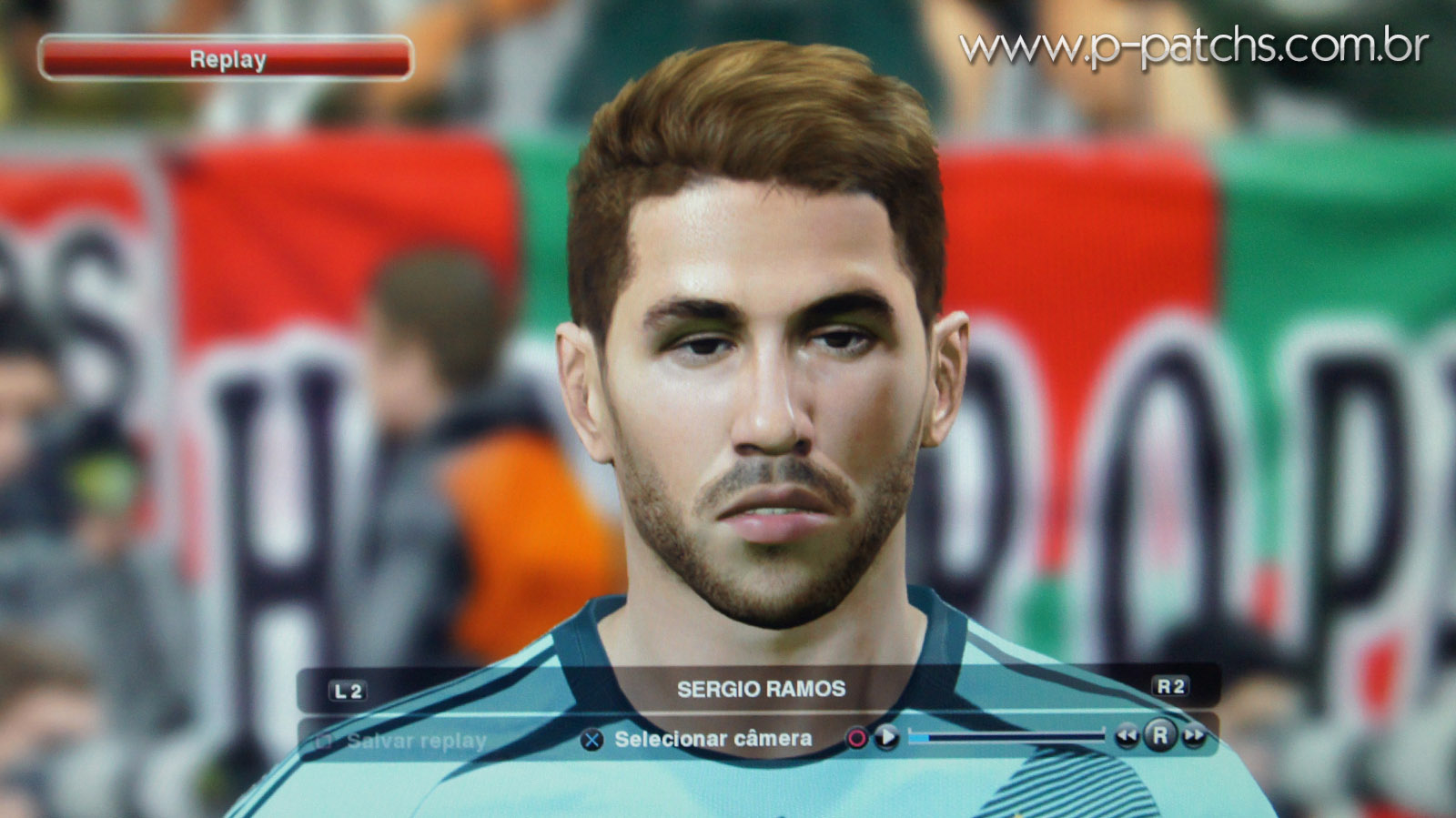 Face do Sergio Ramos no PES 2014