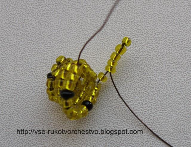Лев из бисера схема плетения фото 240