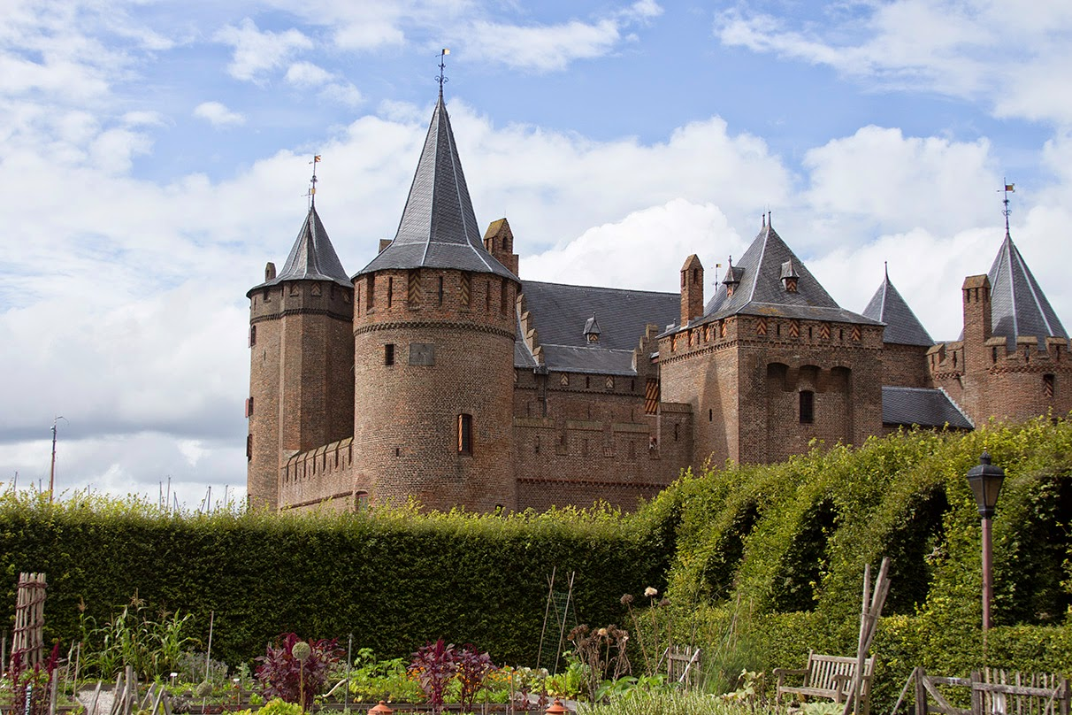 Castle Muiderslot with its gardens