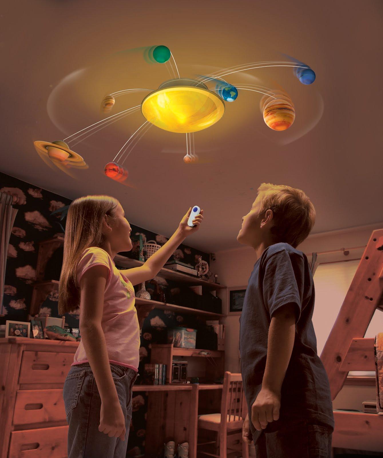 La Boutique Spatiale Lampe syst¨me solaire automatique