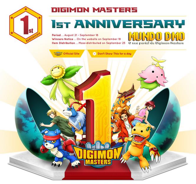 Notícias DMO - Eventos 1º Aniversário DMO