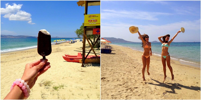 греция наксос пляж