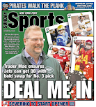 Jets trade for back page