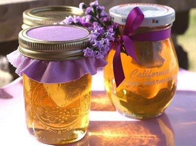 Recept: Levanduľový med