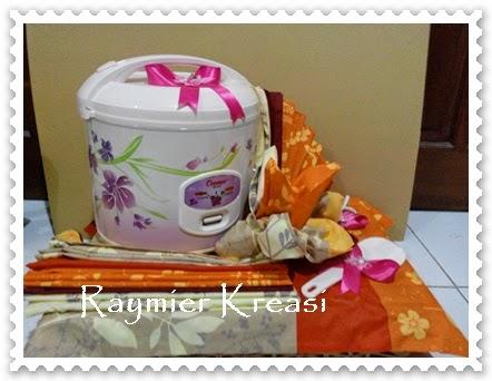 raymier kreasi: peralatan dapur cantik juga untuk seserahan