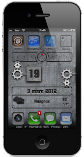 iOS 4, were added as Sara, SBSettings, Activator, Videos, Music, Reminder, etc. ...