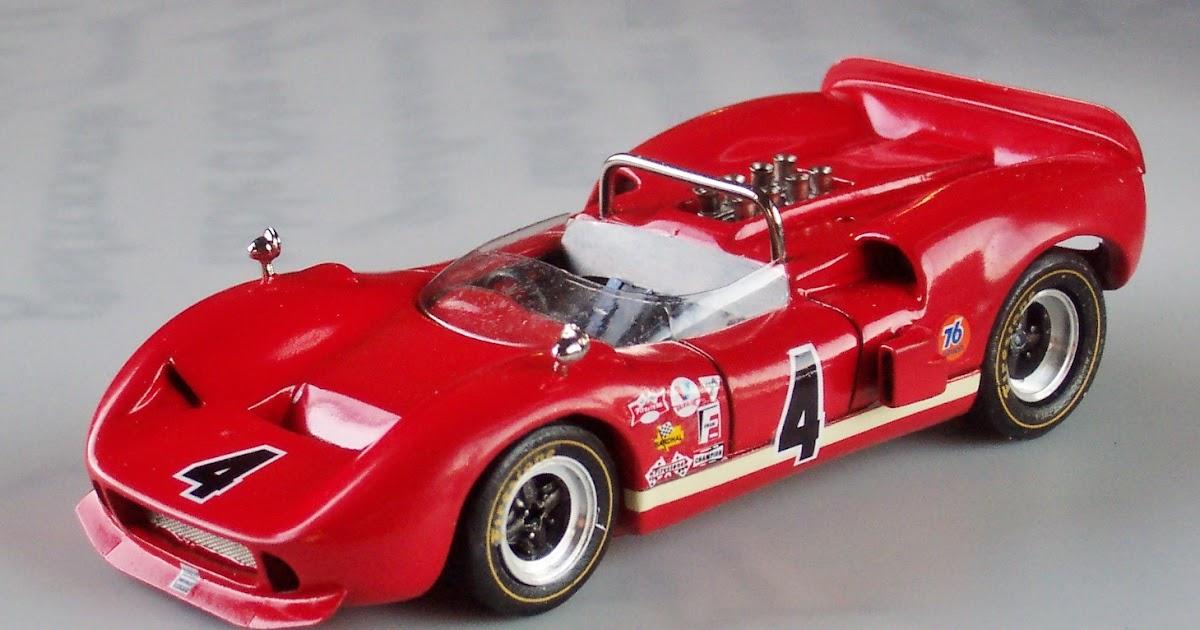 1/43 CanAm and USRRC: McLaren M1B or McLaren-Elva Mk.II
