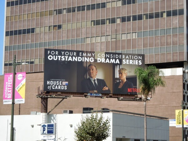 House of Cards Drama Emmy 2014 billboard