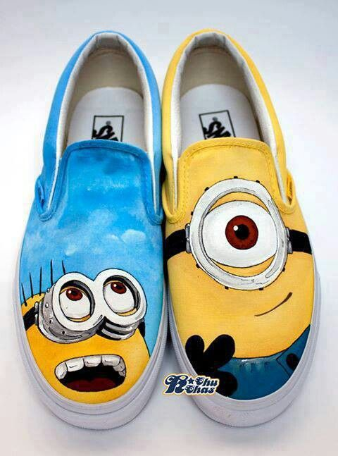 Cute Minion Shoes