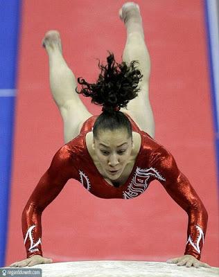 Images comiques et incroyables Sport - Gymnastique v44