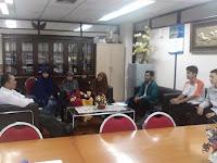 TIM Audiensi Kongres Mahasiswa Islam Sulawesi (KMI-S) Kunjungi Wakil Rektor III UNHAS