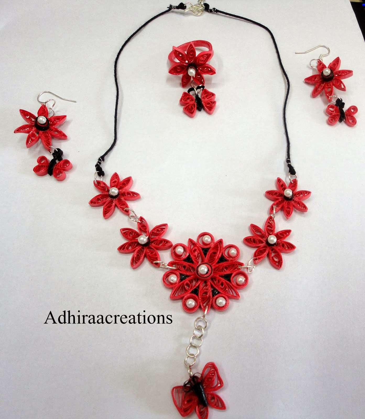 how to make jewellery set