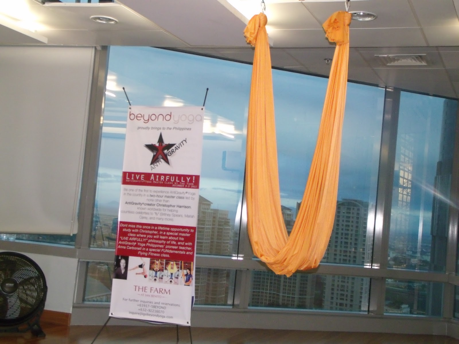 antigravity yoga was developed by christopher harrison founder of the acrobatic performance  pany by the same name with the mission of merging yoga     antigravity yoga is finally here in manila    a taste of goodness  rh   tasteofgoodness info