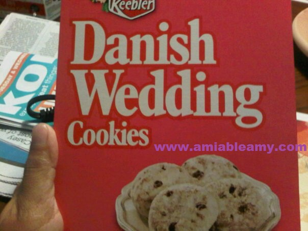 Danish Wedding Cookies With Chocolate Chips