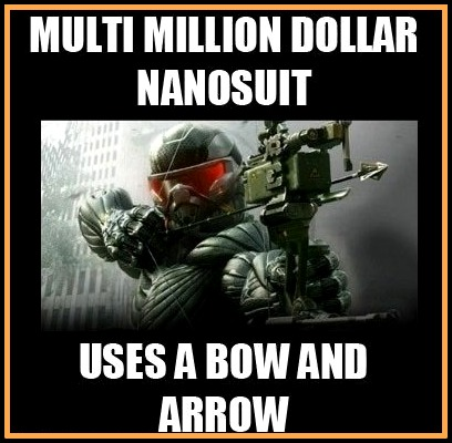 game logic,game logic meme,funny,Crysis