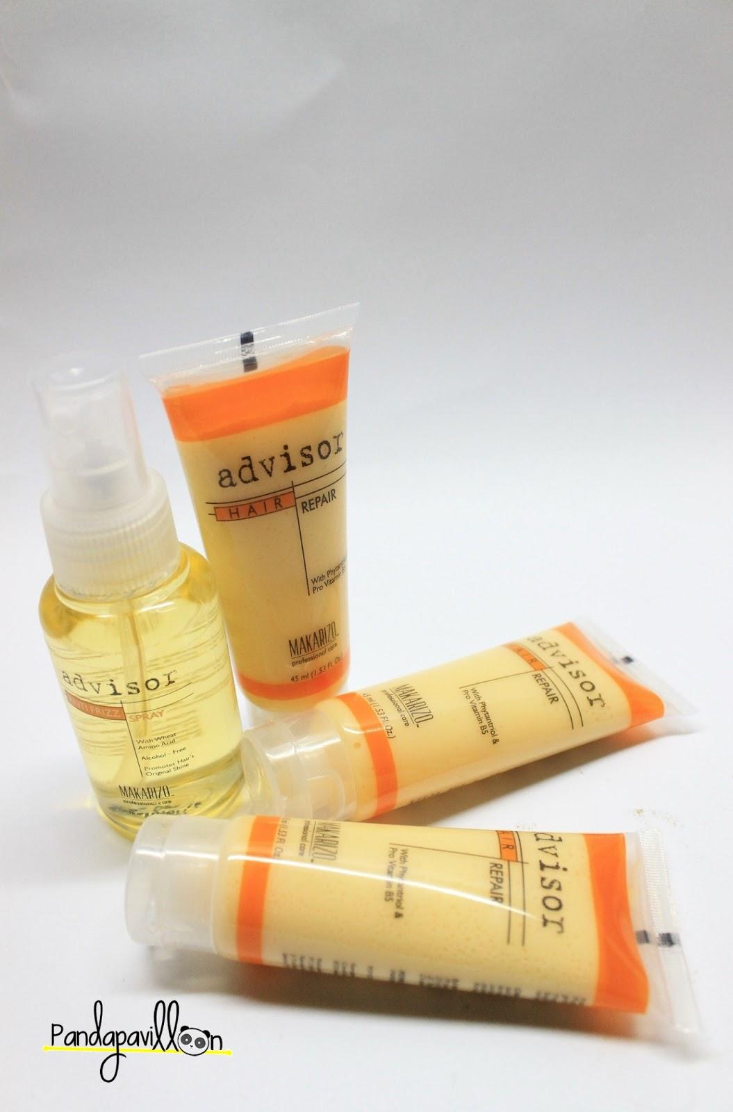Hair Repair By Makarizo Quick Review Meylisa Agustina Advisor Recovery 8 Ml 3 Pcs