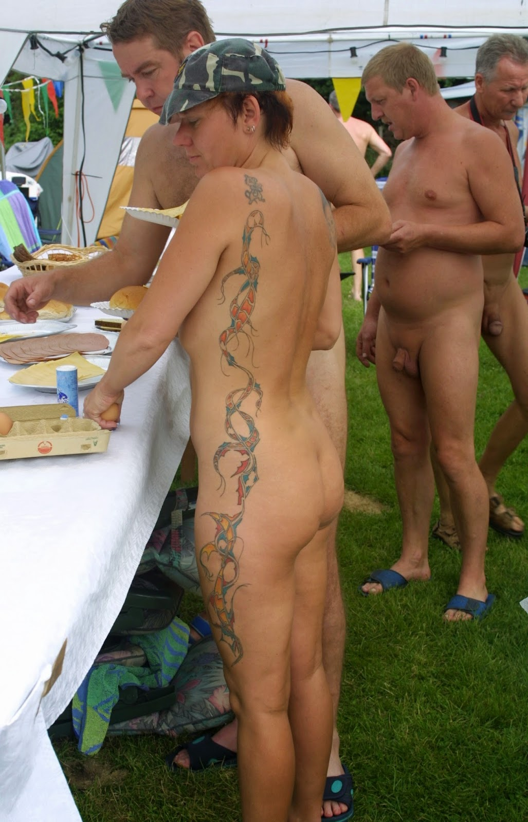 Nudist camp nude think