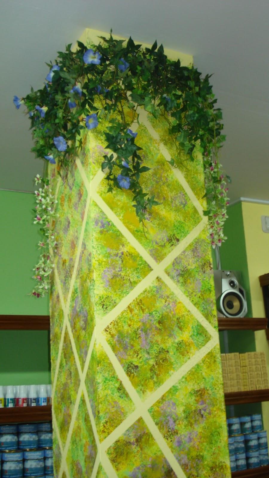 Arteva pintura decorativa en paredes trampaantojos - Pintura decorativa paredes ...