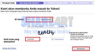 capcha Tips Cara Membuka Akun Yahoo yang Terkunci