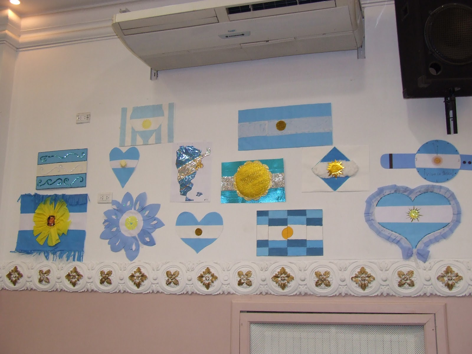 Colegio argentino rabe omar bin al jattab a 1120 for Decoracion 25 de mayo nivel inicial