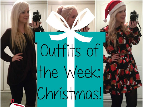 Outfits of the Week: Christmas!