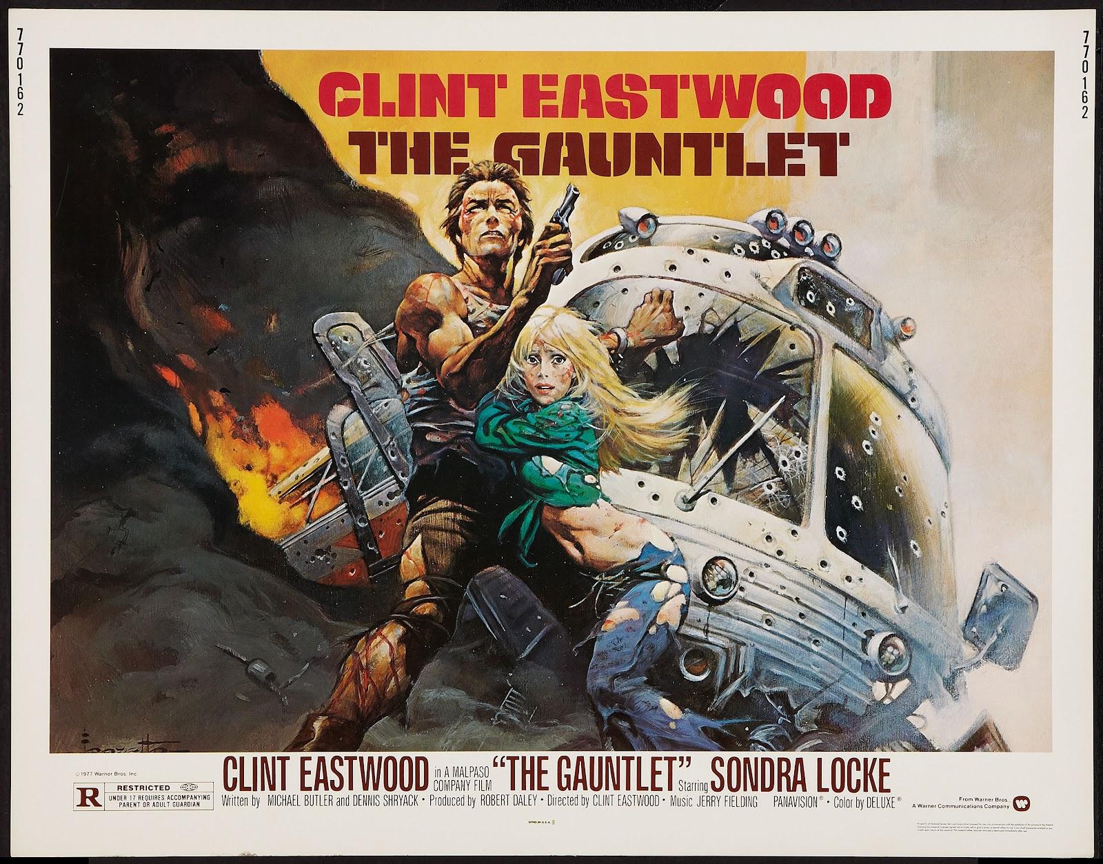 capns comics the gauntlet by frank frazetta and clint