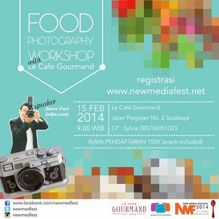 Food Photography Workshop with Le Cafe' Gourmand Surabaya