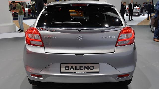 2016 Suzuki Baleno 1.0 Boosterjet
