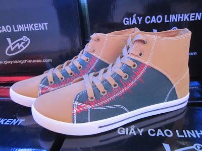 Giày nam nâng chiều cao GT208. 7
