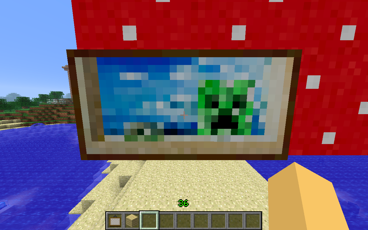painting minecraft - Top Hd Wallpapers
