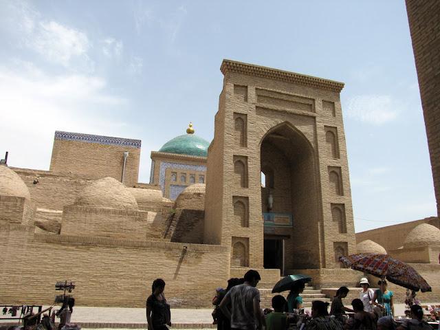 Uzbekistán, Khiva - Mausoleo Pahlavon Mahmud