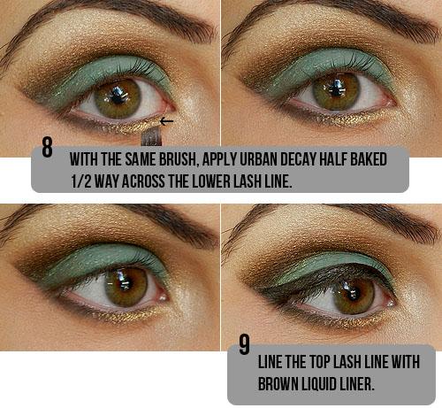 Tutorial de maquiagem olho castanho 6