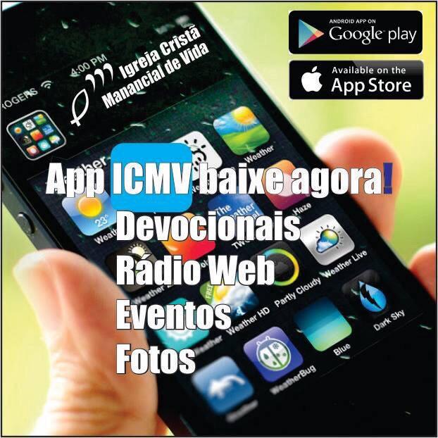 Baixe o aplicativo para Iphone ou Androide