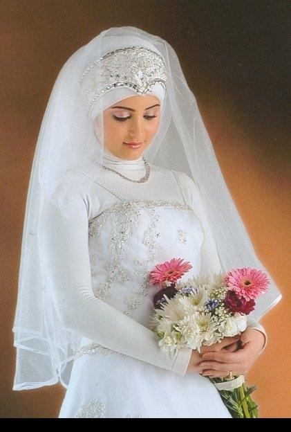 فساتين زفاف للعرايس المحجبات 2013 اجمل