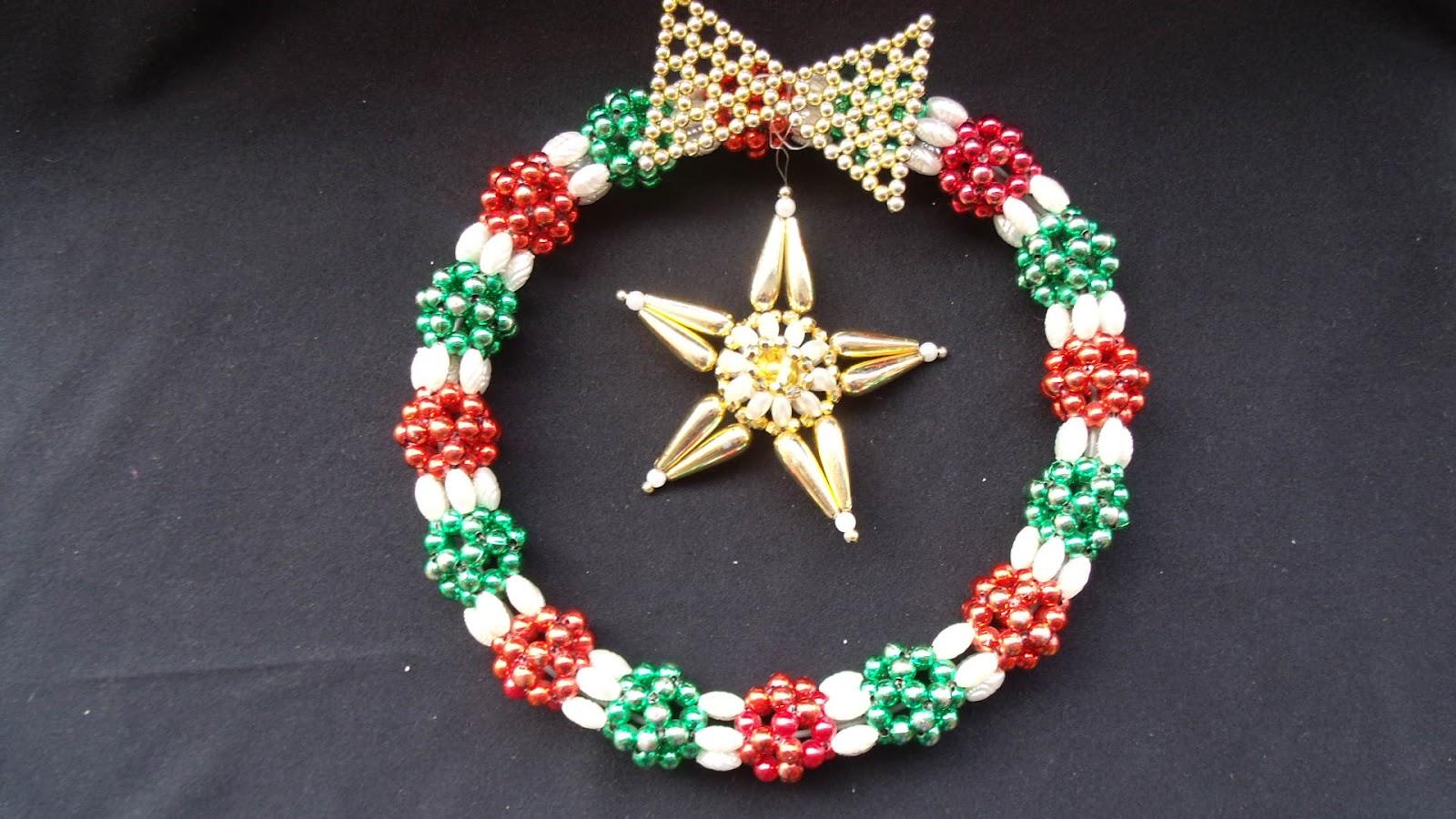 Manualidades en perlas - Trabajos manuales navidenos ...
