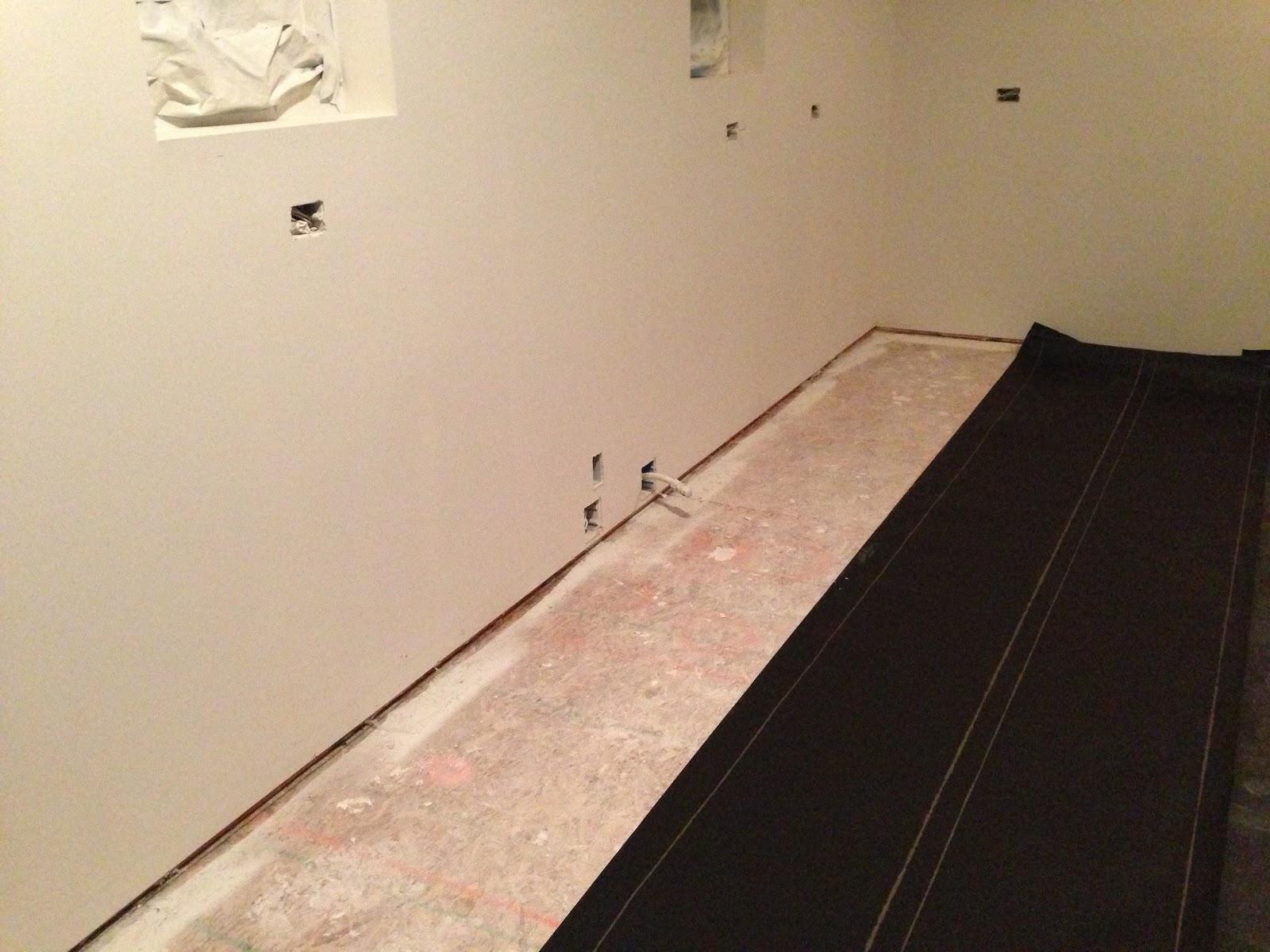 A (very) Basic Lesson On Installing Hardwood Floors