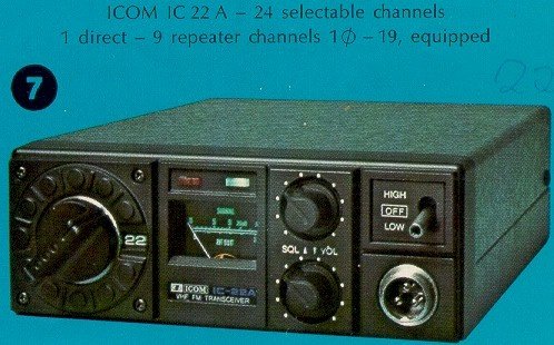 Icom IC-22A Mobil