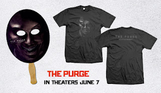 Enter to win The Purge pack which includes a t-shirt and mask. Perfect to #SurviveTheNight. Ends 6/17.