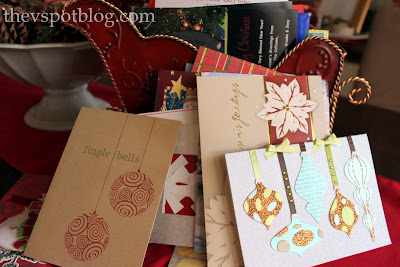 Recycle your Christmas cards to make beautiful gift tags