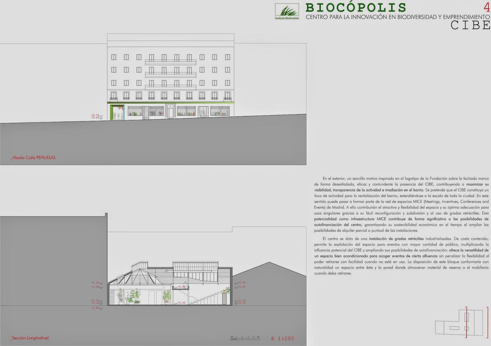Fundación biodiversidad, cibe, Reforma vivienda Madrid, rehabilitación edificio Madrid, arquitectura Madrid