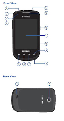 Samsung Dart SGH-T499 Manual User Guide (T-Mobile)