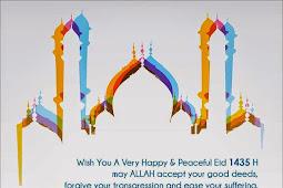 Ucapan Selamat Hari Raya Idul Fitri 1435 H