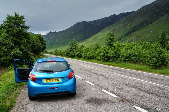 Escocia en coche